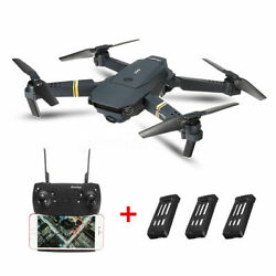 E58 FPV Wifi RC Drone With HD Camera Wide Angel Foldable Quadcopter Selfie Toys $49.99