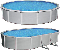 Samoan 52quot; Tall Steel Wall Above Ground Pool Kit plus Starter Package $3944.90