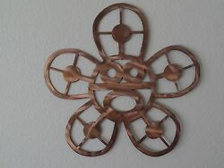 24quot; Sol Taino Wall Metal Art with Rustic Copper Finish $56.00