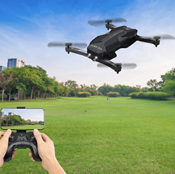 Propel Flex 2.0 Compact Folding Drone with HD Camera Remote and Phone Holder $41.46