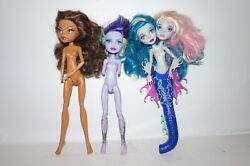 Lot of 3 monster high for parts or OOAK $12.95