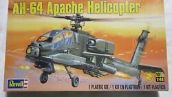 REVELL AH 64 APACHE HELICOPTER 1 48 SCALE MODEL KIT $10.00