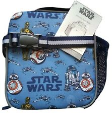 Pottery Barn Kids Star Wars Lunch Bag Soft sided Lunchbox R2D2 $29.90
