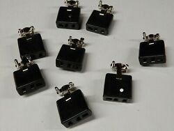 Beau Cinch S 303 CCT 3 Pin Free Hanging Sockets Solder Tabs Qty 8 NOS $25.00