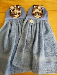 Set of 2 Handmade Hanging Kitchen Towels $9.59