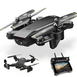 FPV Wifi RC Drone Quadcopter HD Camera Foldable Selfie Toy Trajectory Flip Gift $53.99