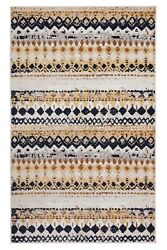 Geometric Bohemian 2#x27;x4#x27; Peach Distressed Rustic Area Rug 514 $29.99