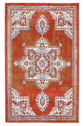 Distressed Bohemian 2#x27;x4#x27; Rust Transitional Moroccan Oriental Rug 512 $29.99