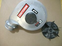 Craftsman Portable Dust Collector 152.213351 Blower Housing W Impeller OR90641 $49.99