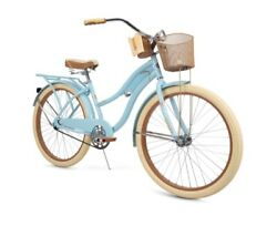 Huffy Nel Lusso Classic Cruiser Bike with Perfect Fit Frame Women#x27;s Blue 26quot; $240.00