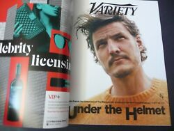 Variety October 2020 Pedro Pascal NEW OTHER $14.95