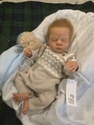Limited Edition Preemie Reborn Pip By Cassie Brace COA 134 1250 $425.00