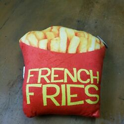French Fries Pillow Novelty Food Shaped Pillow $9.99