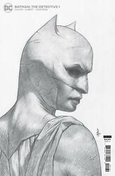 Batman The Detective #1 1:25 FEDERICI B W Sketch Ratio Variant 2021 First $10.00