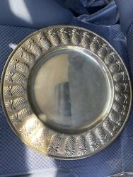 Solid Brass Charger Plate $15.00