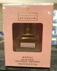 Intimately Beckham for Women EDT Fragrance .5 oz 15 mL DISCONTINUED COTY $24.99