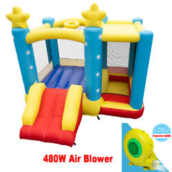 Inflatable Bounce House Castle Jump and Slide Bouncer for Outdoor Entertainment $309.99