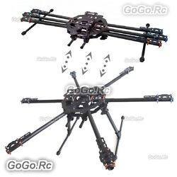 Tarot FY680 Foldable Hexacopter Carbon Fiber 680mm Frame Kit Drone TL68B01 $164.00