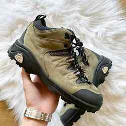 Womens Nike x ACG Trekking Trail Hiking Boot Nubuck Sz 9 $53.10