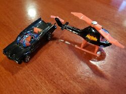 Corgi Juniors Batmobile and Batman Helicopter 1976 $25.00