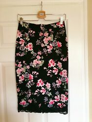 Brand New Express Floral Pencil Skirt Size 4 $11.99