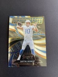 Justin Herbert 2020 Panin Select Turbocharged T24 RC Chargers M NM $45.00