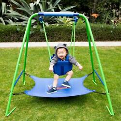 Sportspower My First Toddler Swing with Bouncer Baby Play station Indoor Outdoor $70.01