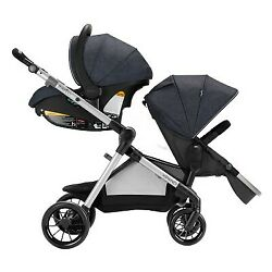 Evenflo Pivot Xpand Modular Travel System with Safemax Infant Car Seat Roan $210.99