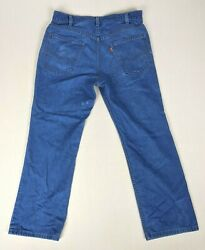 Levi#x27;s Vintage For Men Orange Tab Skosh More Comfort Denim Blue Jeans USA 34x32 $27.99