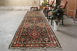 4x14 Vintage Oriental Hand Knotted Traditional Wool Floral Runner Area Rug $699.00