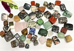 Wholesale Lot 2 Lbs Natural Mixed Crystal Tumble Healing Energy Nice Quality $25.00