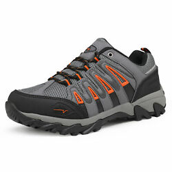 NORTIV 8 Men#x27;s Waterproof Hiking Boots Lightweight Outdoor Trekking Trail Shoes $46.39