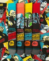NEW STANCE STAR WARS THE EMPIRE STRIKES BACK SOCKS LIMITED EDITION IN BOX $100.00