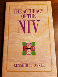 The Accuracy of the NIV by Kenneth L. Barker Paperback $4.99