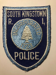 South Kingstown Rhode Island Police Patch $5.85