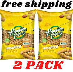 Hampton Farms Unsalted In Shell Peanuts 5 lbs. 2 pack $15.66