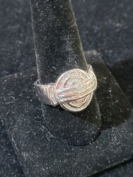 white gold mens rings size 10 $1000.00