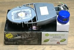 Commercial Street Light Dusk Dawn Security LED Luminaire 5700K 56 W 6000 L