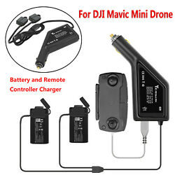 For DJI Mavic Mini Drone Battery amp; Remote Control Car Charger Charging Hub 3in1 $24.55