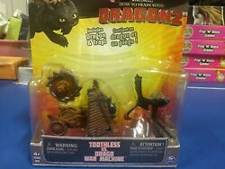 How to Train Your Dragon 2 Toothless vs Drago War Machine Action Figure 2 Pack $17.50