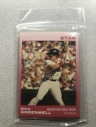 1988 Star Set Mike Greenwell Red Border sealed A6 $4.95