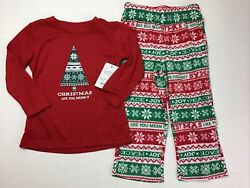 Boys Christmas Pajamas Size 2T. Jammies For Your Families. Sleigh All Day $16.91
