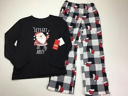 Boys Christmas Pajamas Size 8. Jammies For Your Families. Lets Get Jolly Santa $16.91