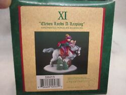 Dept 56 Dickens 12 Days of Christmas quot;Eleven Lords A Leapingquot; #56 58413 READ $39.95