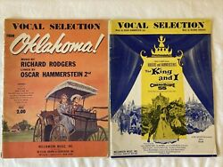 Vocal Selection From Oklahoma amp; The King And I Music Books Williamson Music $9.99