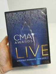 CMA Awards Live Greatest Moments 1968 2015 DVD 10 Disc Set Time Life Complete