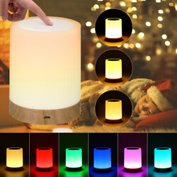 LED Touch Sensor Dimmable Table Lamp Baby Room Sleeping Aid Bedside Night Light $12.99