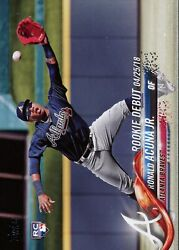 2018 Topps Update Ronald Acuna Jr. #US252 Rookie Card RC Debut $13.99