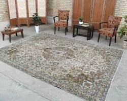 Vintage Oriental Hand Knotted Wool Traditional Classic Floral Area Rug 8x10 $799.00