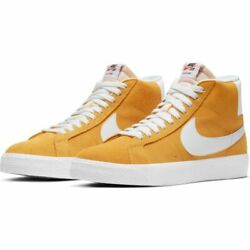 Nike SB Zoom Blazer Mid Shoes University Gold White Sizes 9 12 $84.95